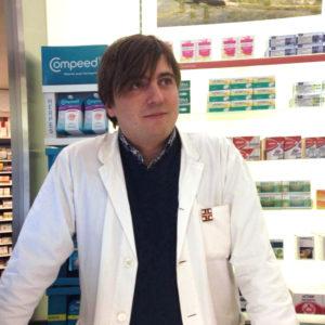 Dott. Paolo Cabas, Ordine dei Farmacisti di Udine n° 1913