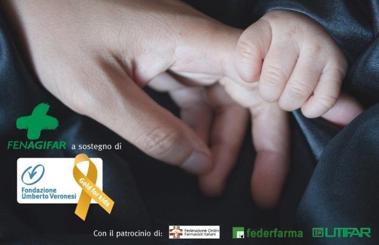 Fenagifar e Fondazione Veronesi in campo contro i tumori pediatrici